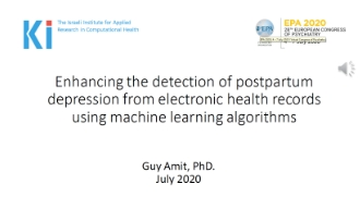 enhancing_the_detection_of_postpartum_depression_from_electronic_health_records_using_machine_learning_algorithms